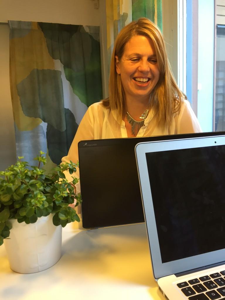 Jeanette Fagerström, vår Praktikant från utbildningen Webbkommunikatör, NBI.se