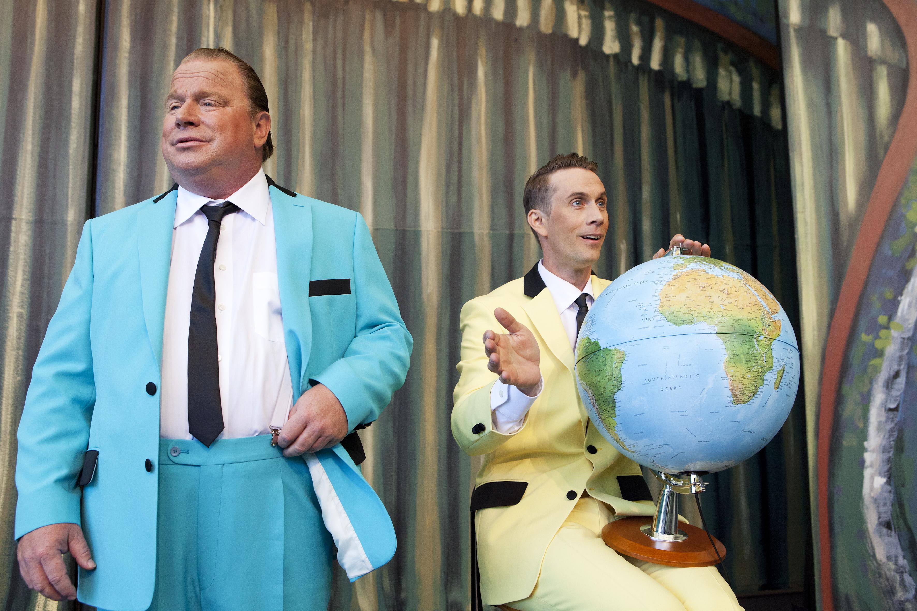 "Gunnebo Sommarteater 2014, ""FrŒn Parken till Vegas"""