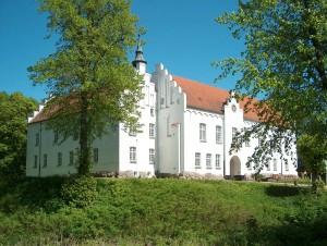 Kokkedal Slott, exteriör