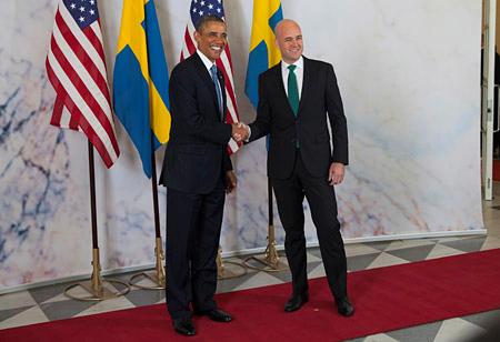 Obama i Sverige