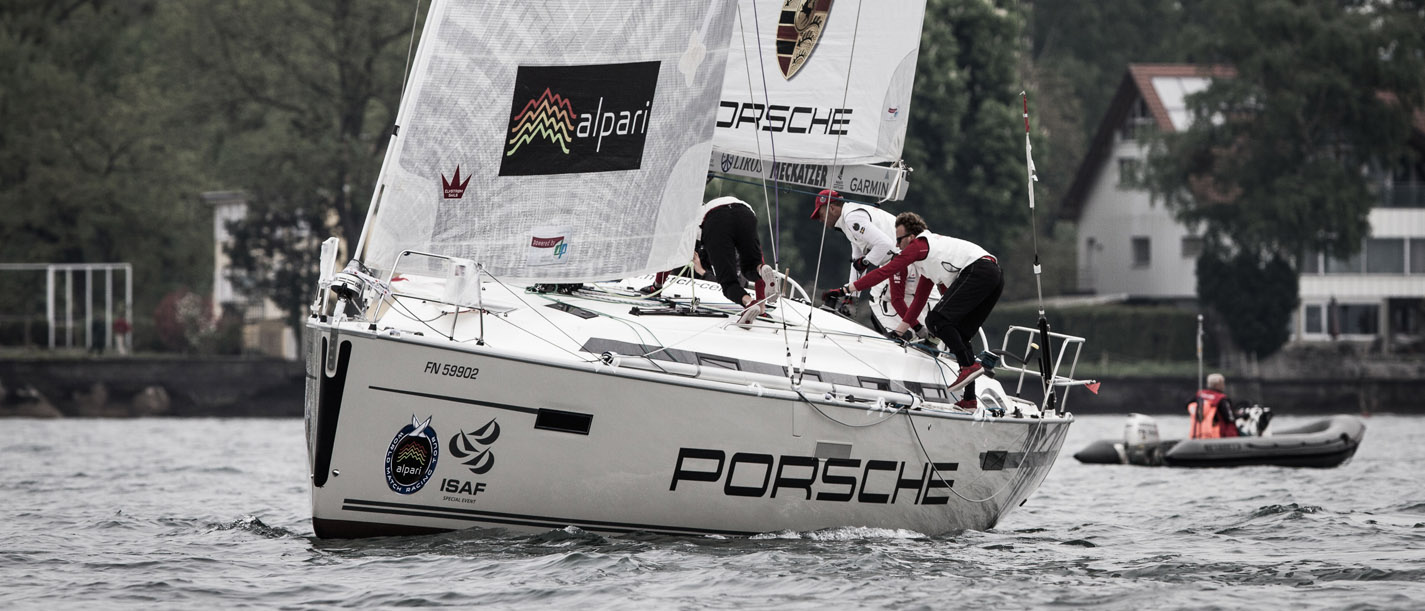 Alpari World Match Racing Tour 2013 - Match Race Germany