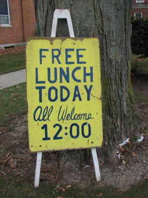 Ibland är det gratis