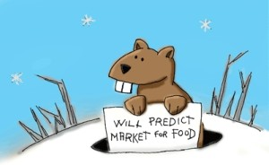 Groundhog will predict market for food