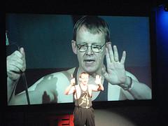 Hans Rosling on stage