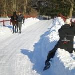 Vinterplåtning med Mountain Horse