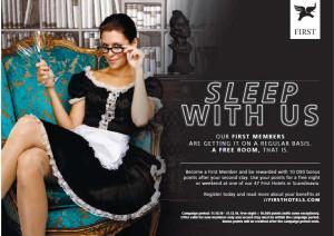 Annons för First Hotels
